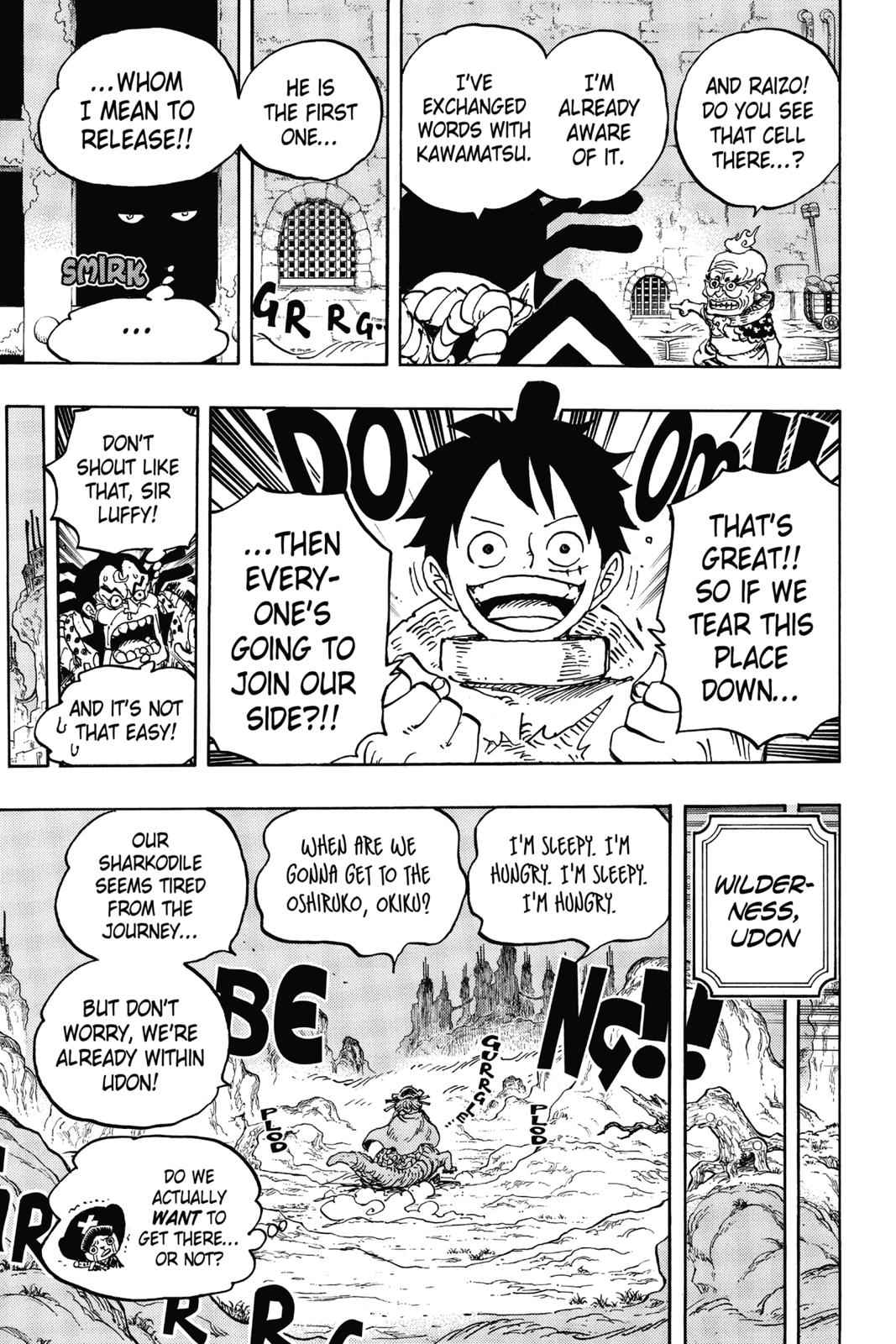 One Piece Chapter 940 Page 17