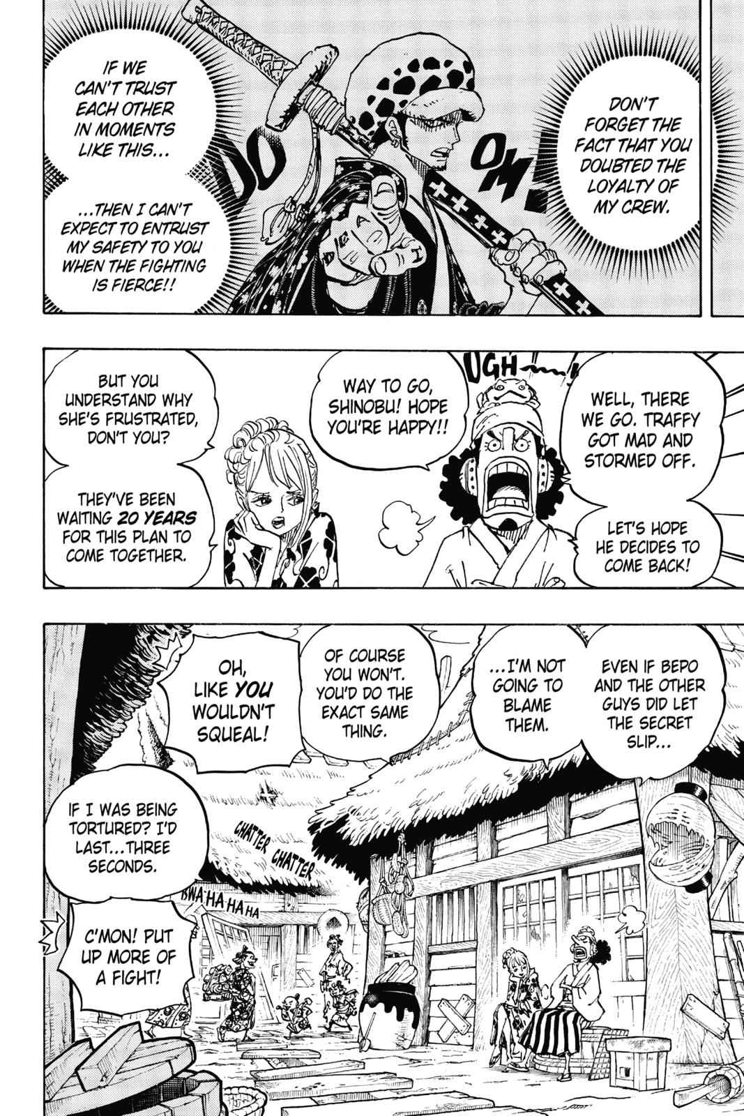 One Piece Chapter 940 Page 2