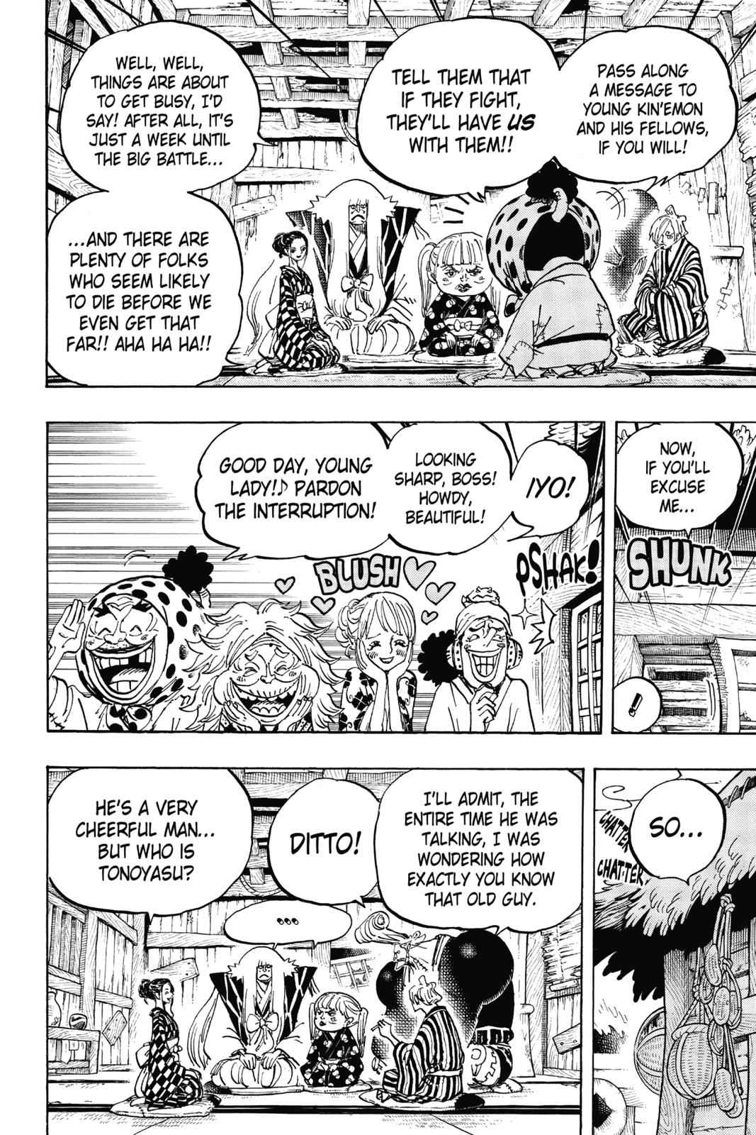 One Piece Chapter 940 Page 6