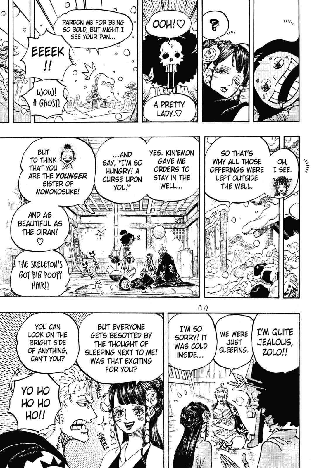 One Piece Chapter 941 Page 11