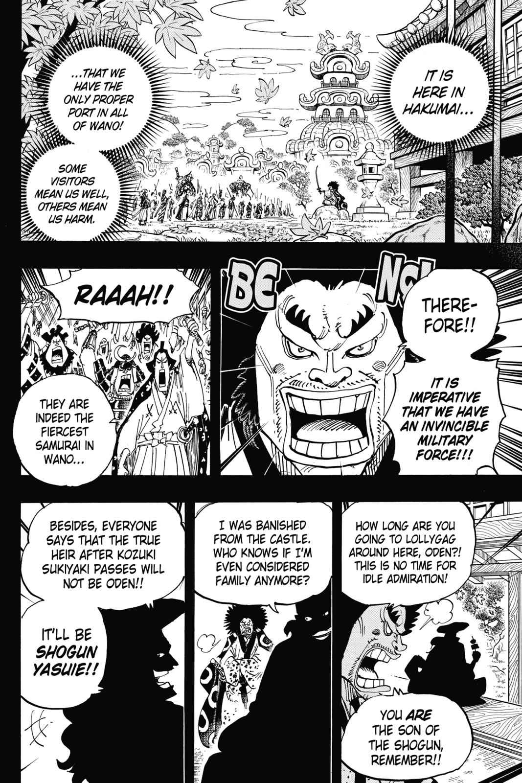 One Piece Chapter 942 Page 2