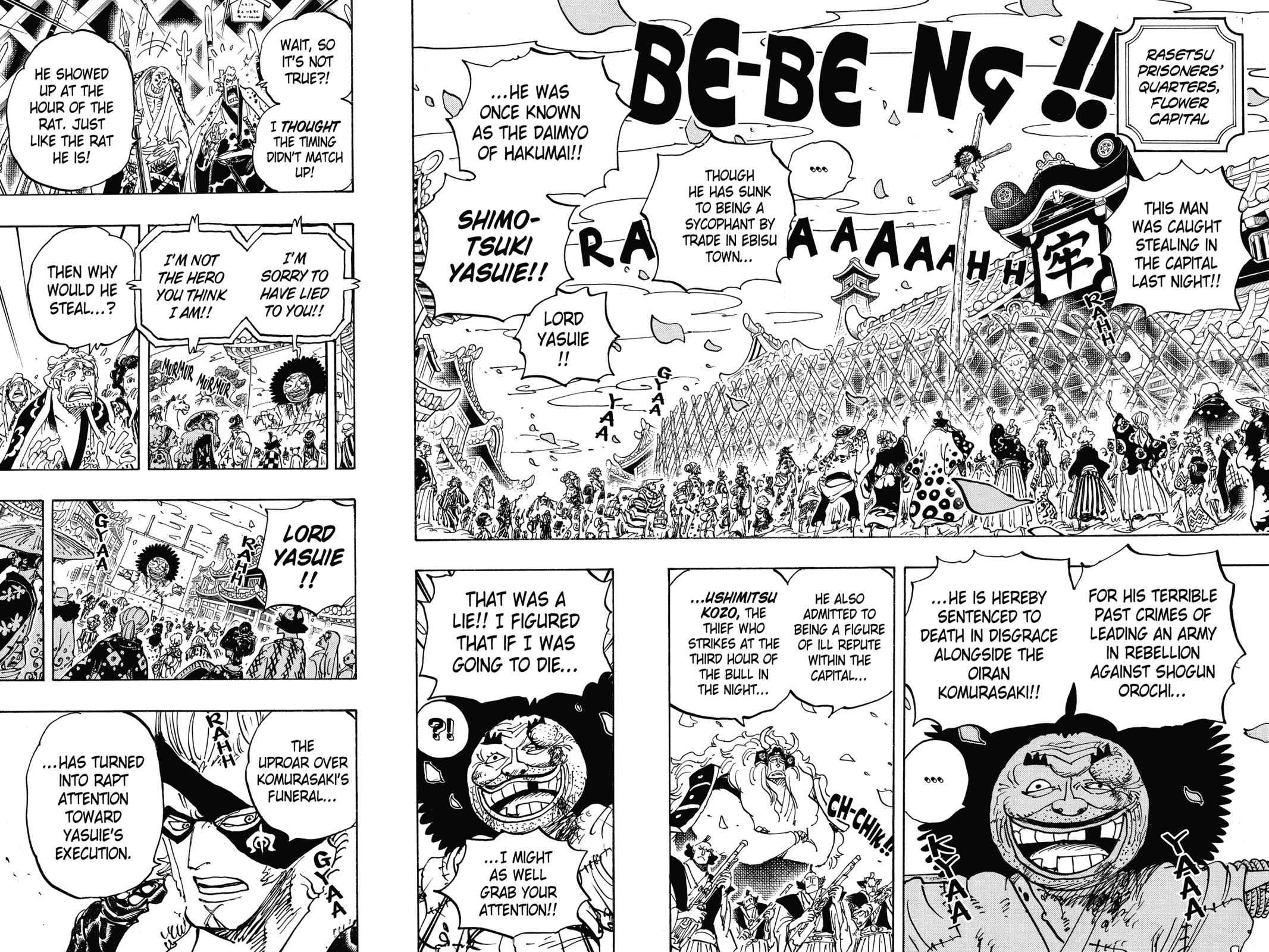 One Piece Chapter 942 Page 4