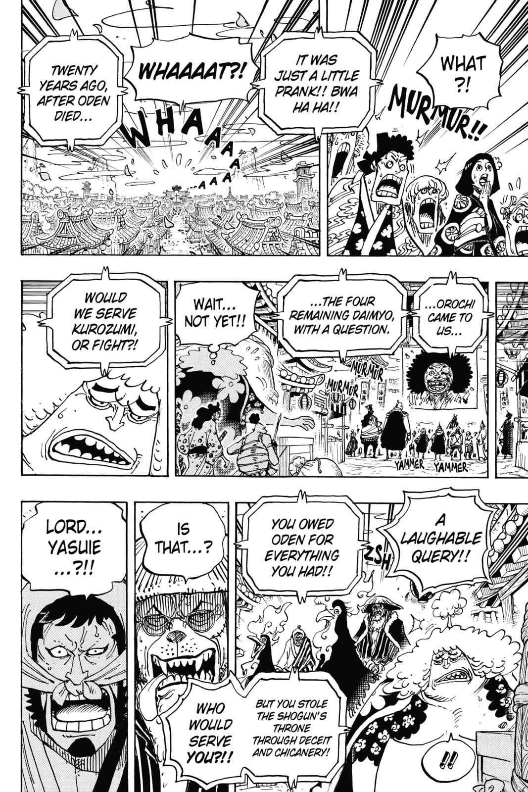 One Piece Chapter 942 Page 9