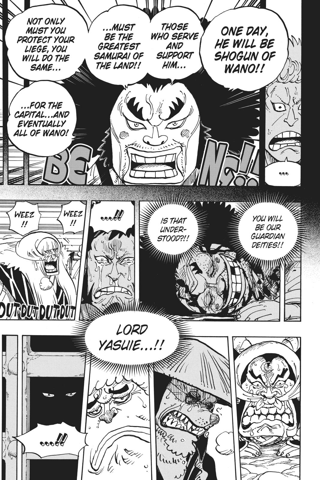 One Piece Chapter 943 Page 9