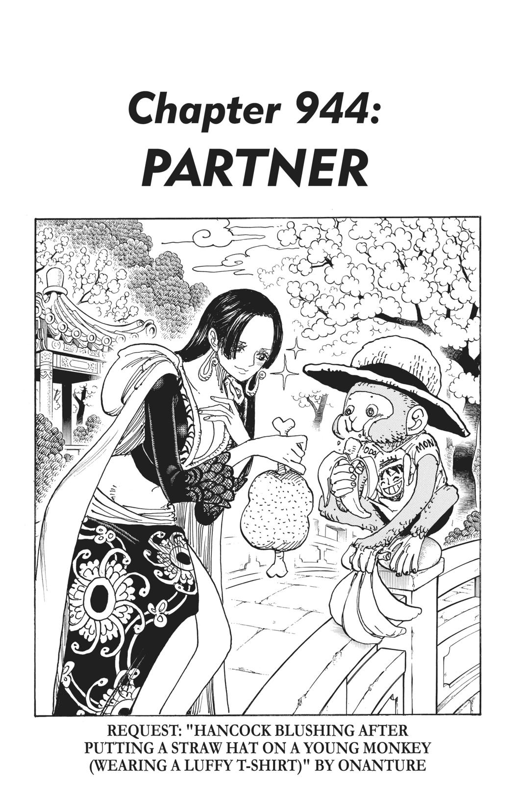 One Piece Chapter 944 Page 1