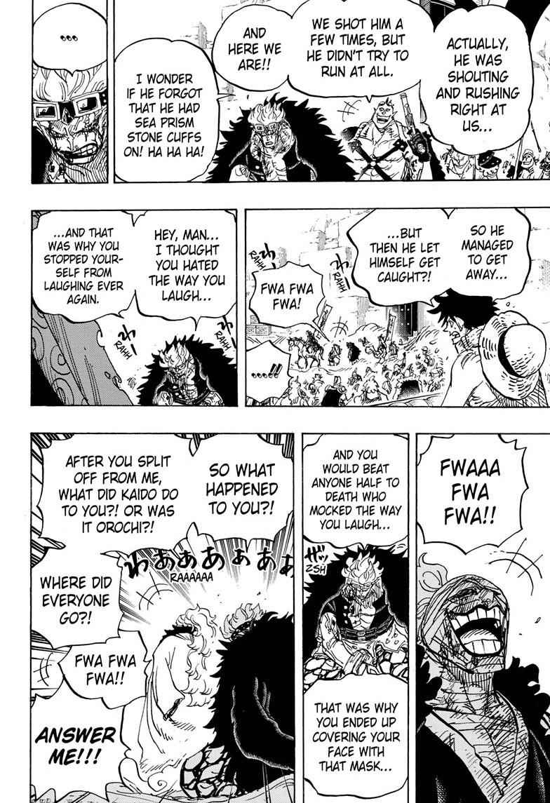 One Piece Chapter 944 Page 12