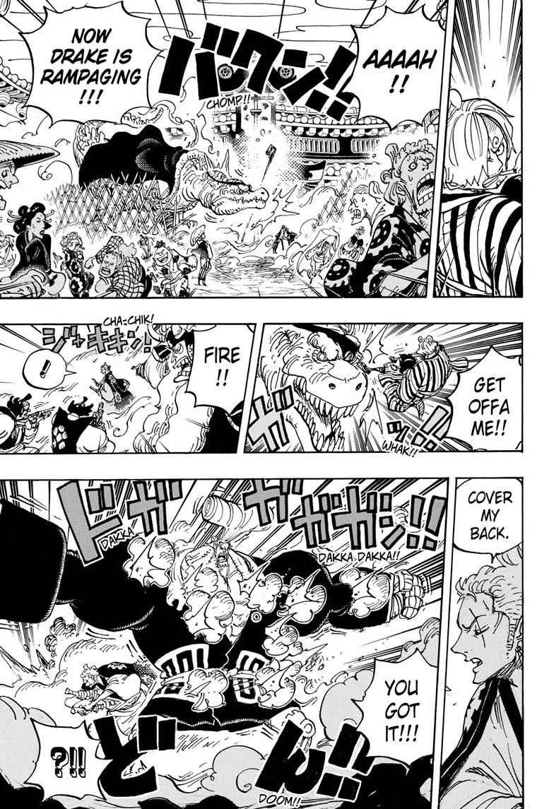 One Piece Chapter 944 Page 7