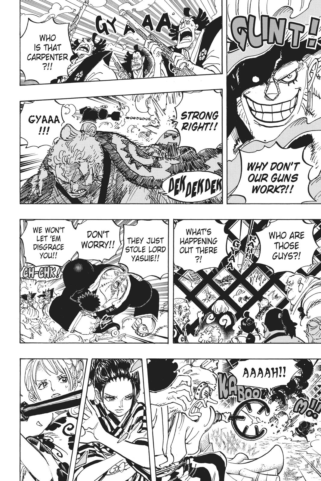 One Piece Chapter 944 Page 8