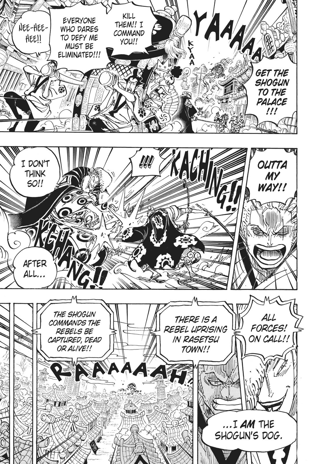 One Piece Chapter 944 Page 9