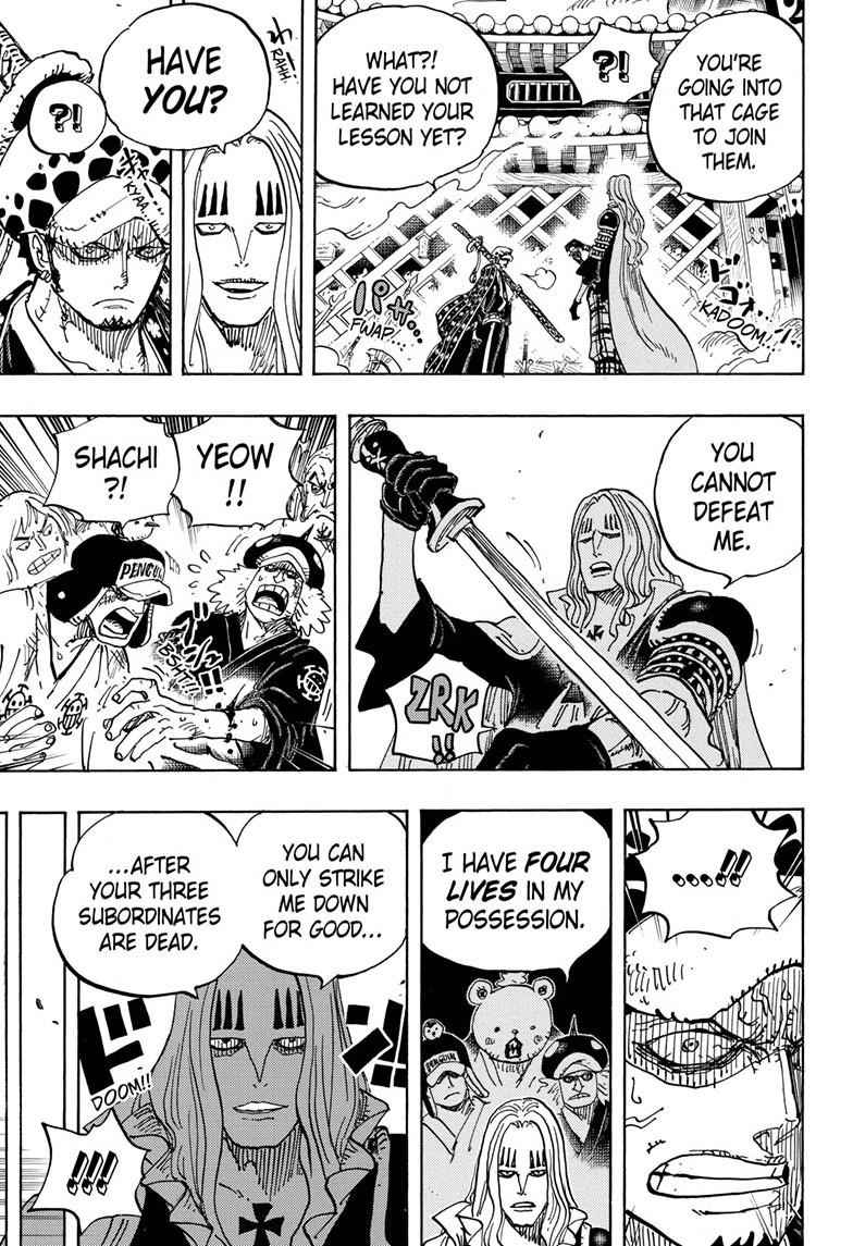 One Piece Chapter 945 Page 9