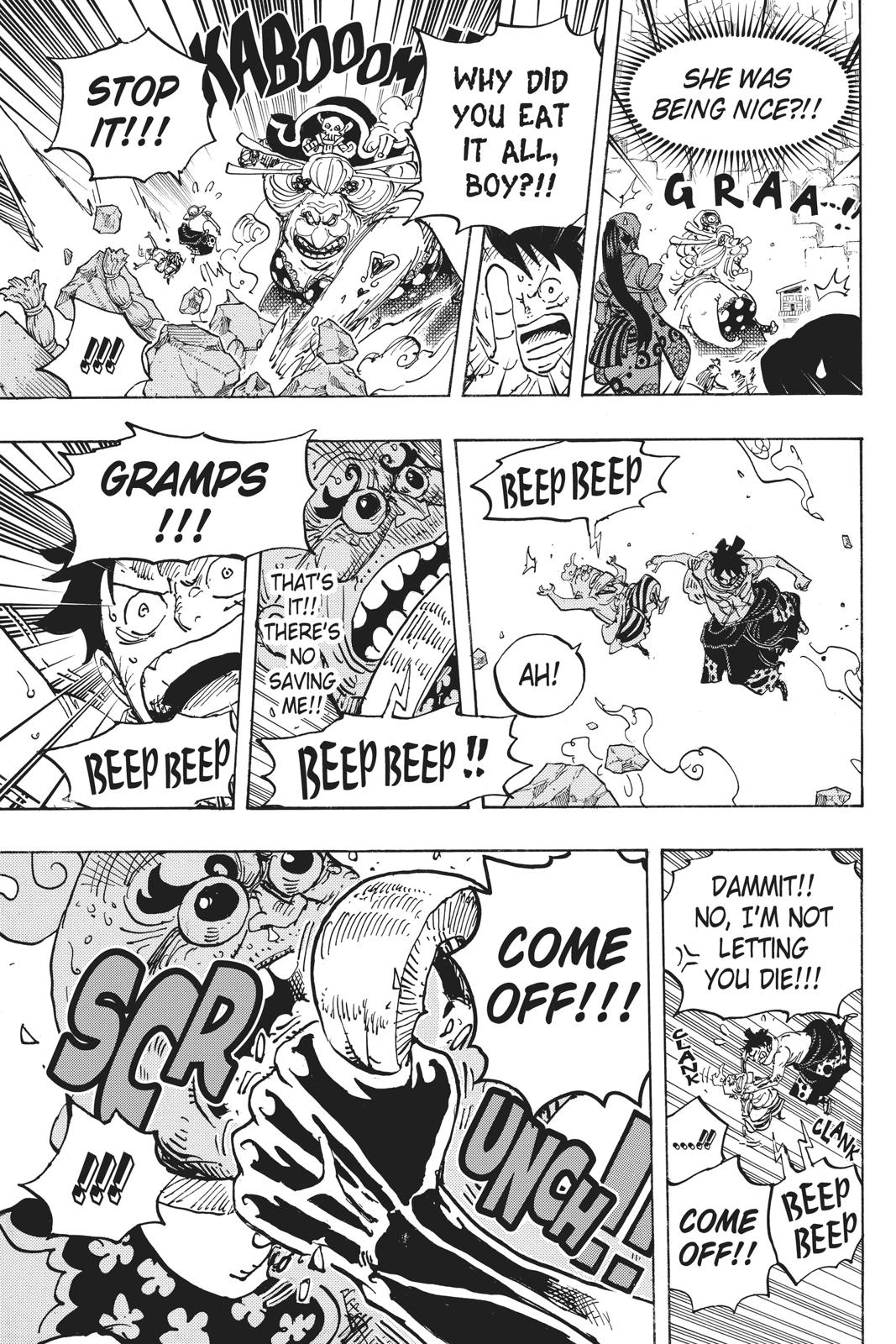 One Piece Chapter 946 Page 13
