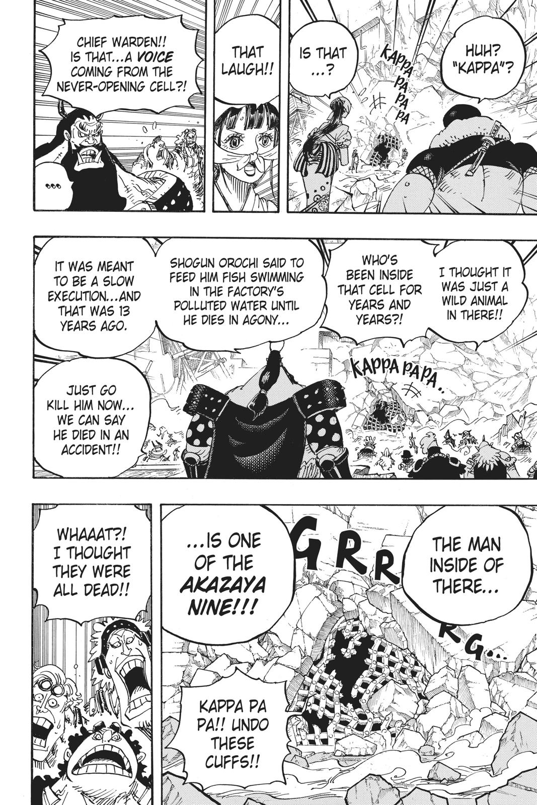 One Piece Chapter 948 Page 7