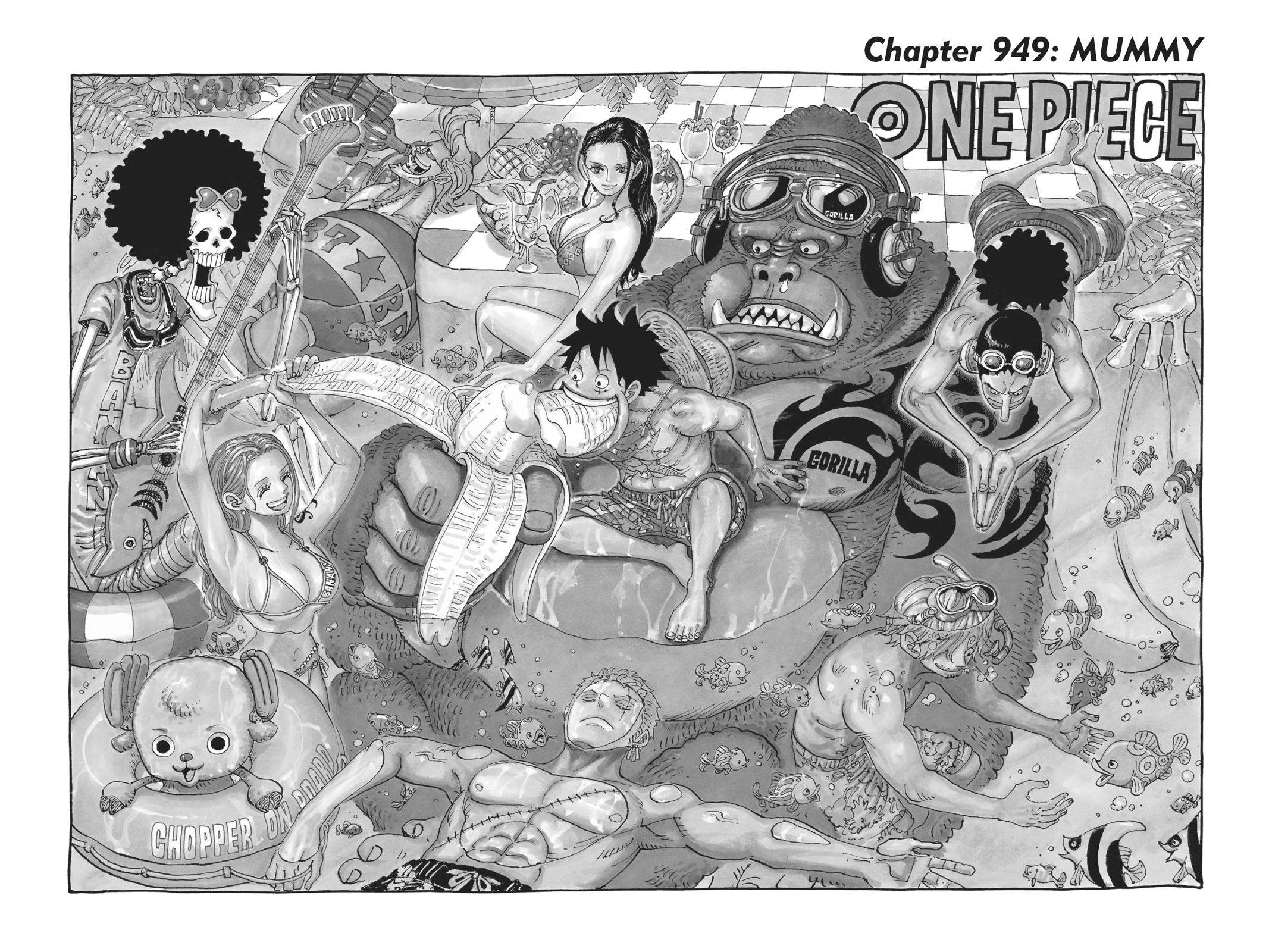 One Piece Chapter 949 Page 1