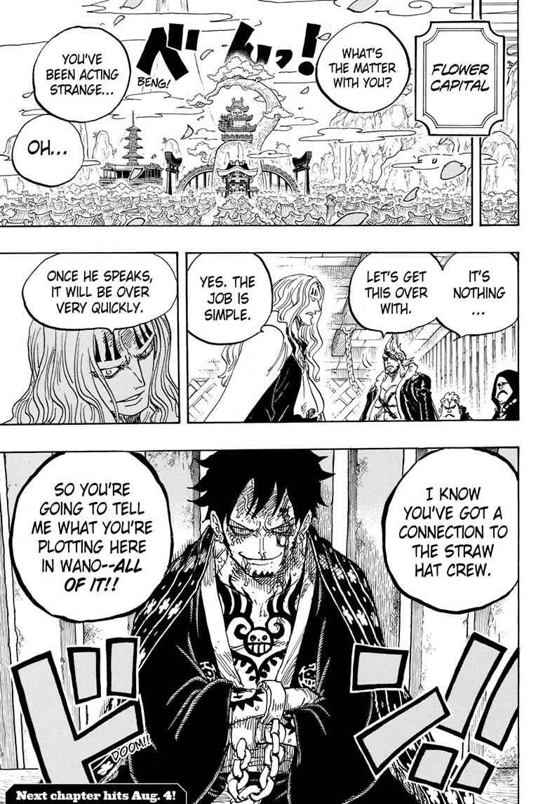 One Piece Chapter 950 Page 15
