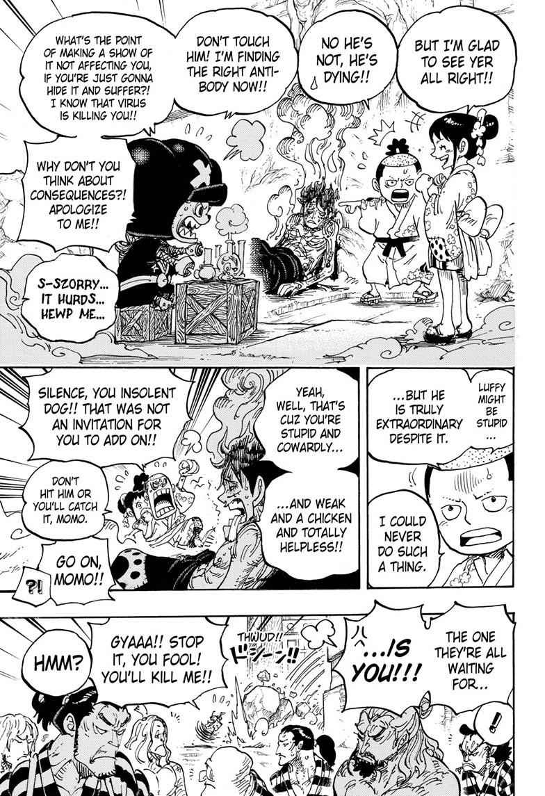 One Piece Chapter 950 Page 5