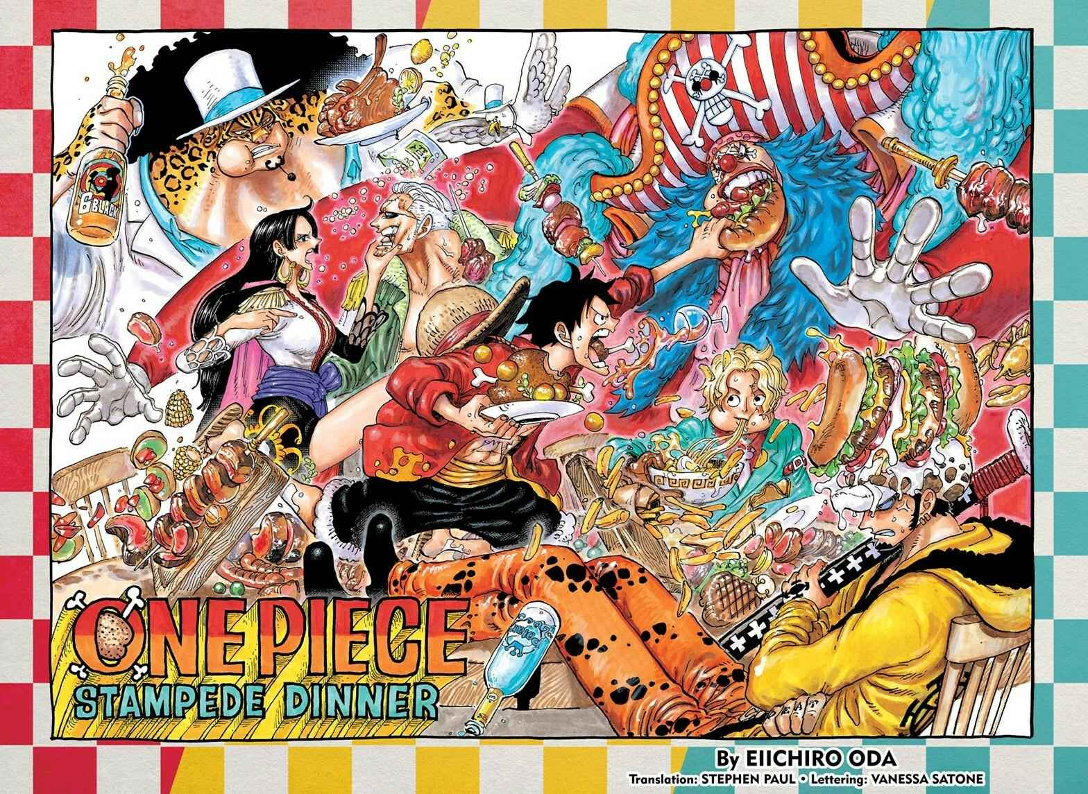 One Piece Chapter 951 Page 1