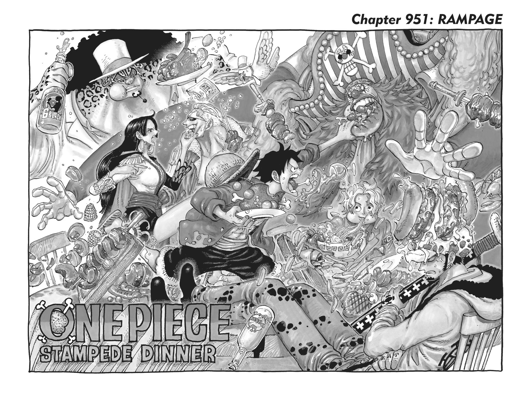 One Piece Chapter 951 Page 2