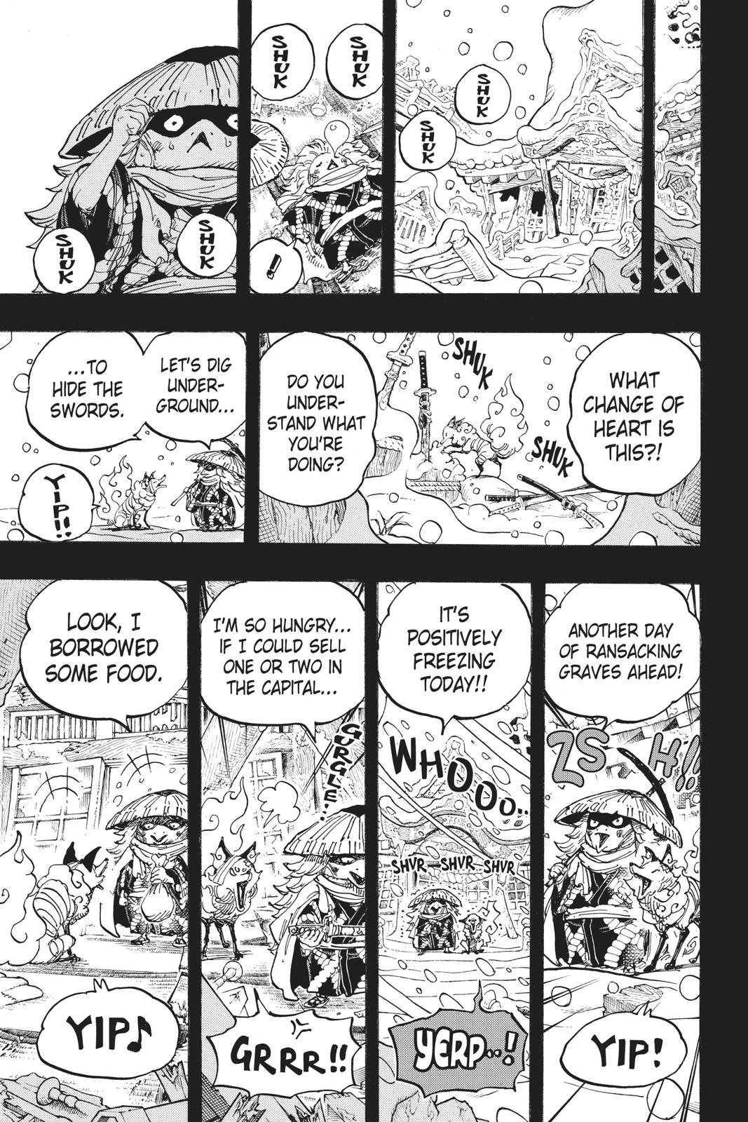 One Piece Chapter 953 Page 13