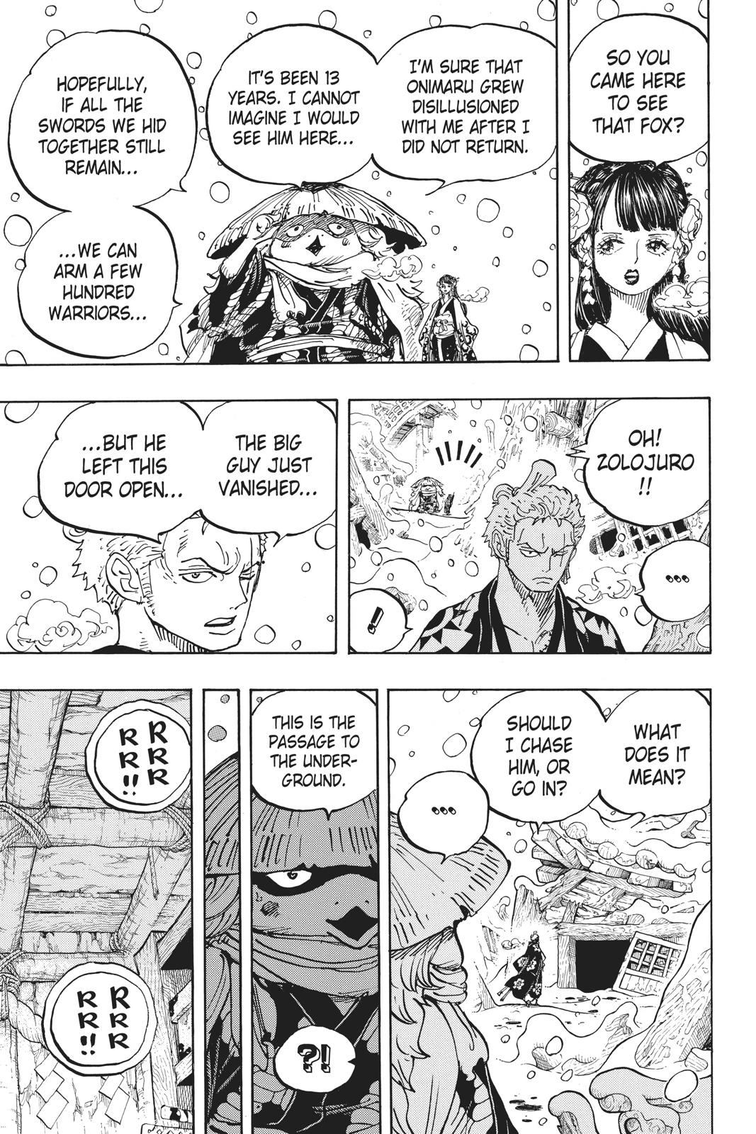 One Piece Chapter 953 Page 15