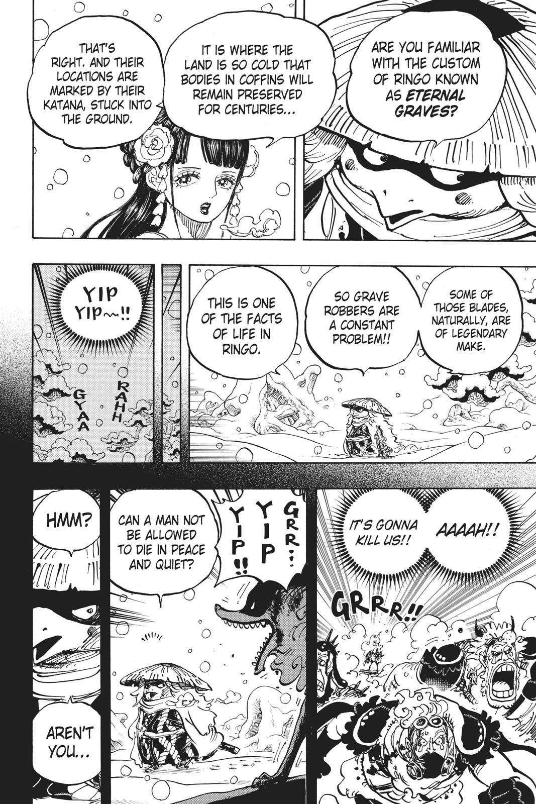 One Piece Chapter 953 Page 6