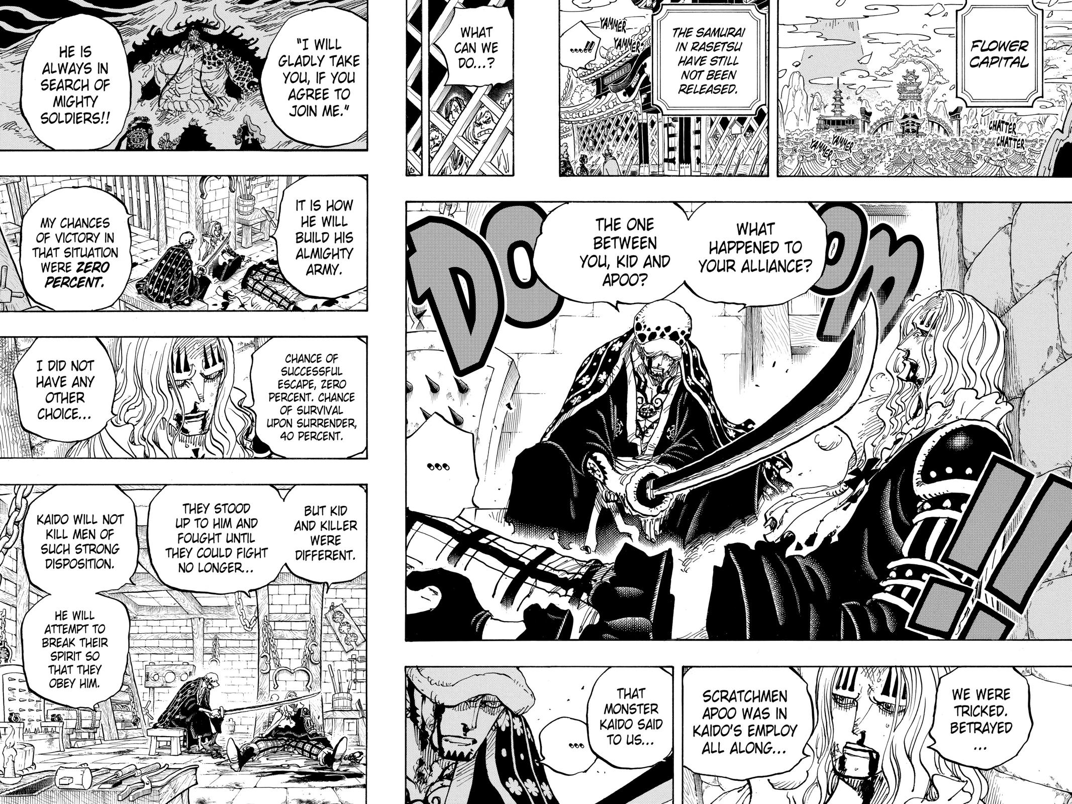 One Piece Chapter 954 Page 10