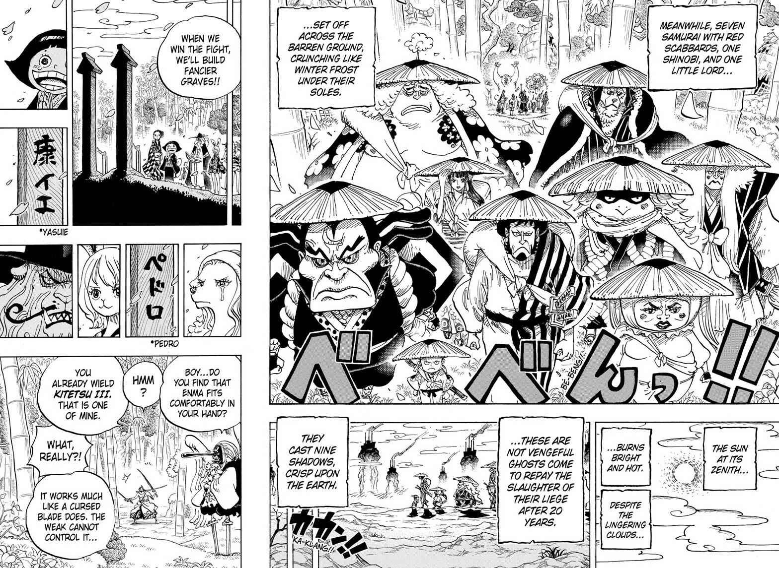 One Piece Chapter 955 Page 14