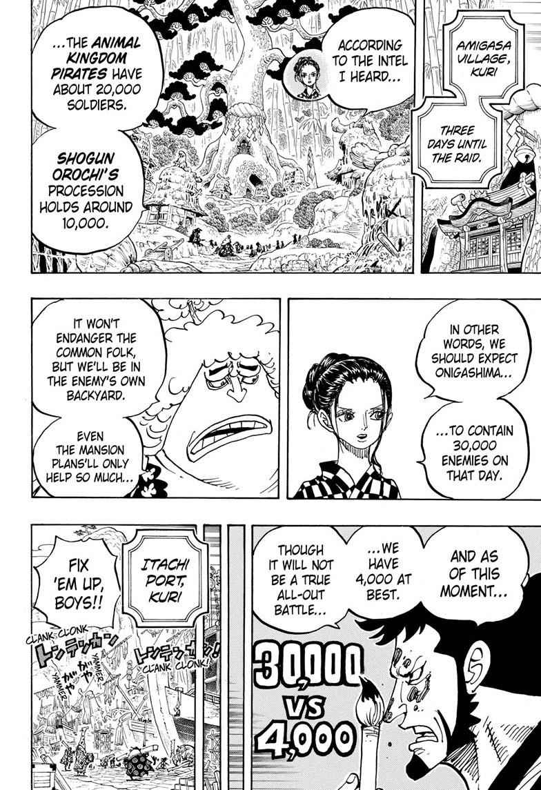 One Piece Chapter 955 Page 8