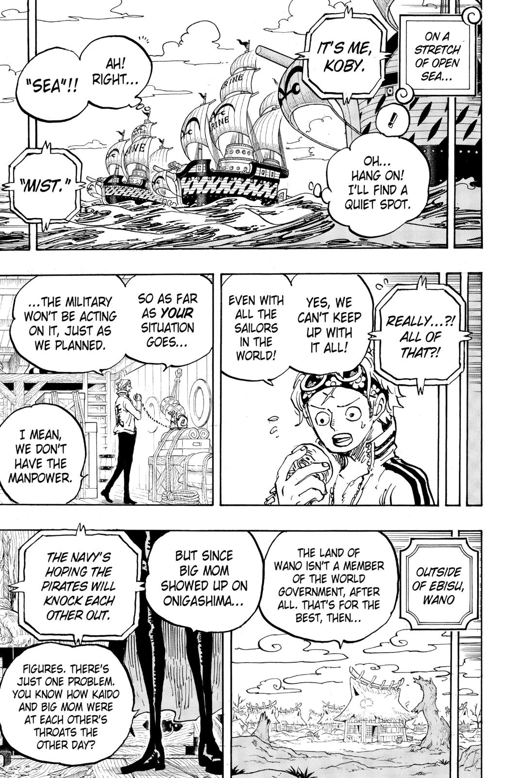 One Piece Chapter 956 Page 11