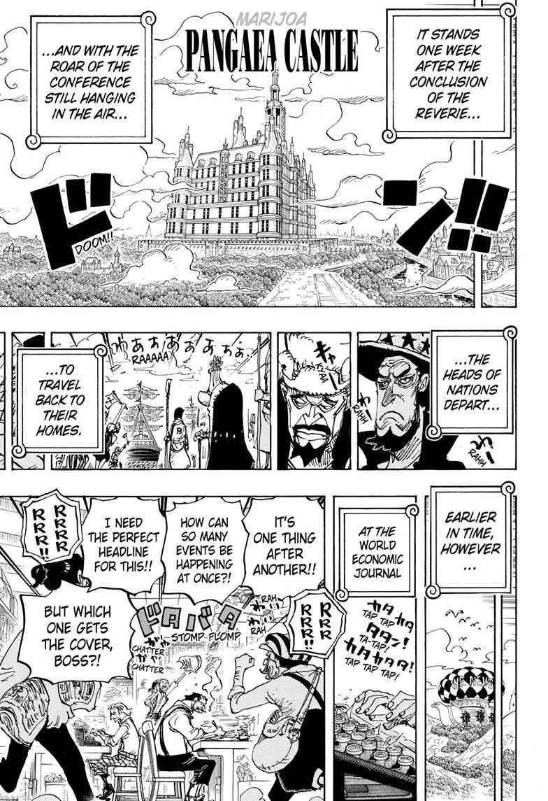 One Piece Chapter 956 Page 5