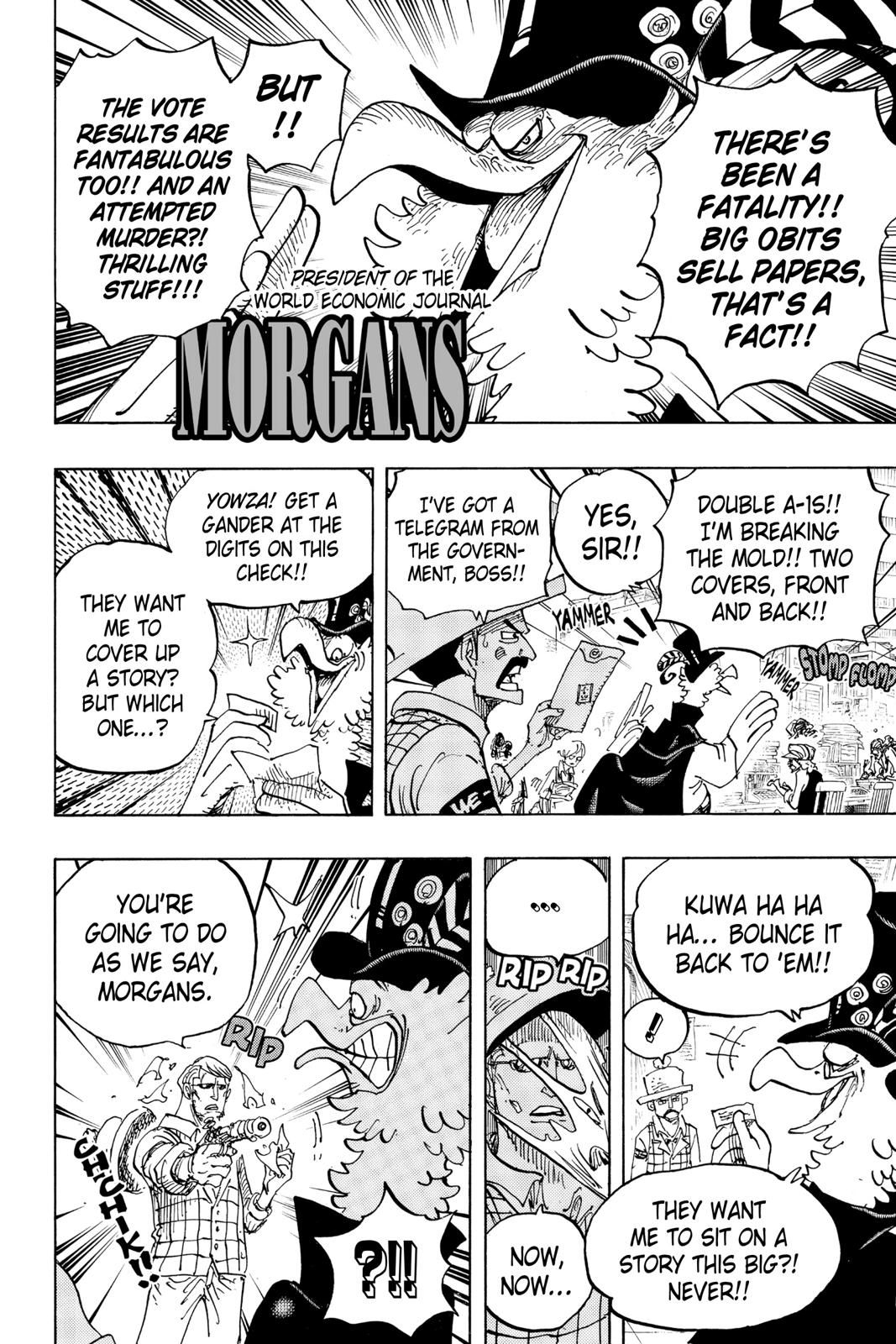 One Piece Chapter 956 Page 6