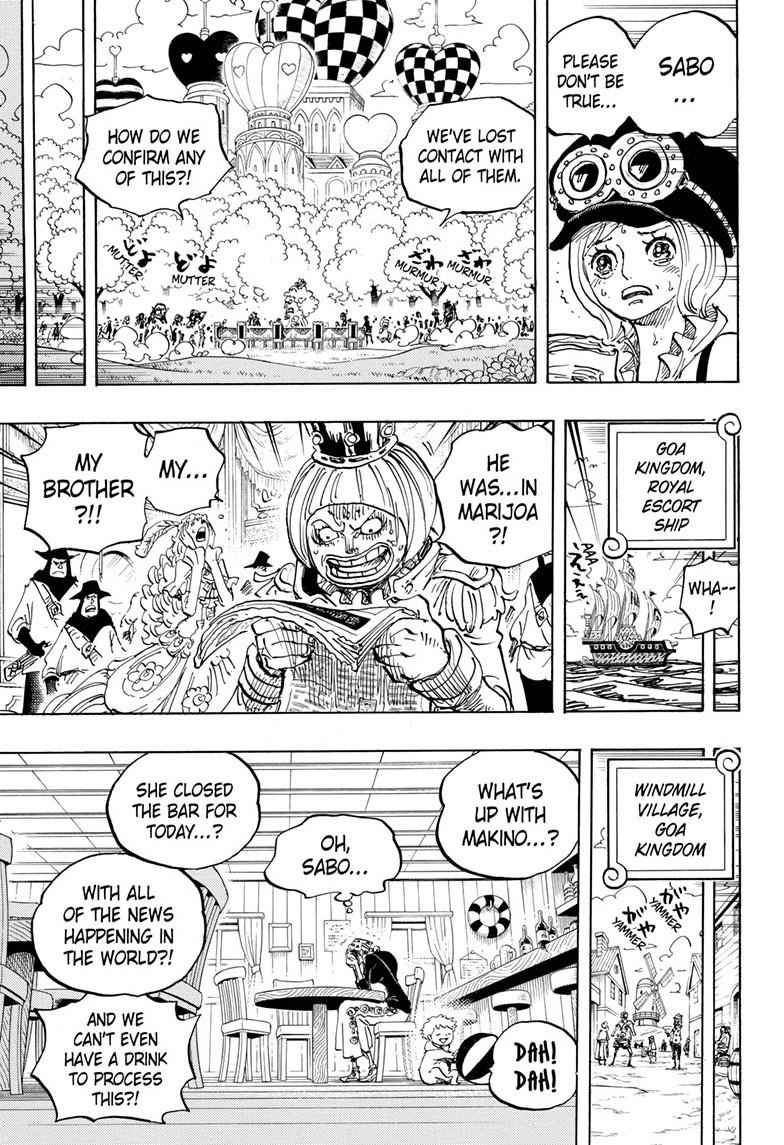 One Piece Chapter 956 Page 9