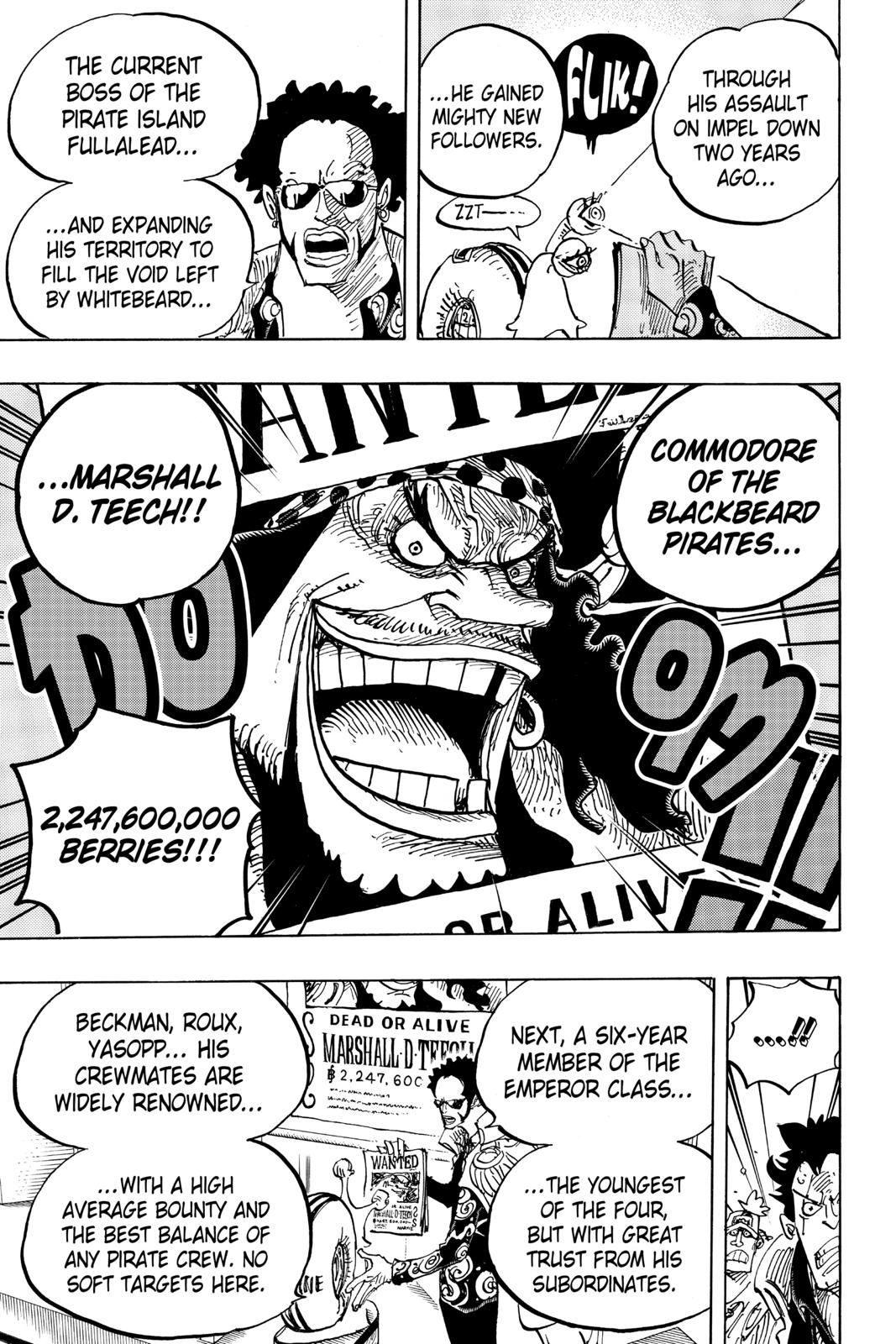 One Piece Chapter 957 Page 13
