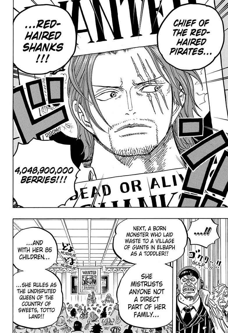 One Piece Chapter 957 Page 14