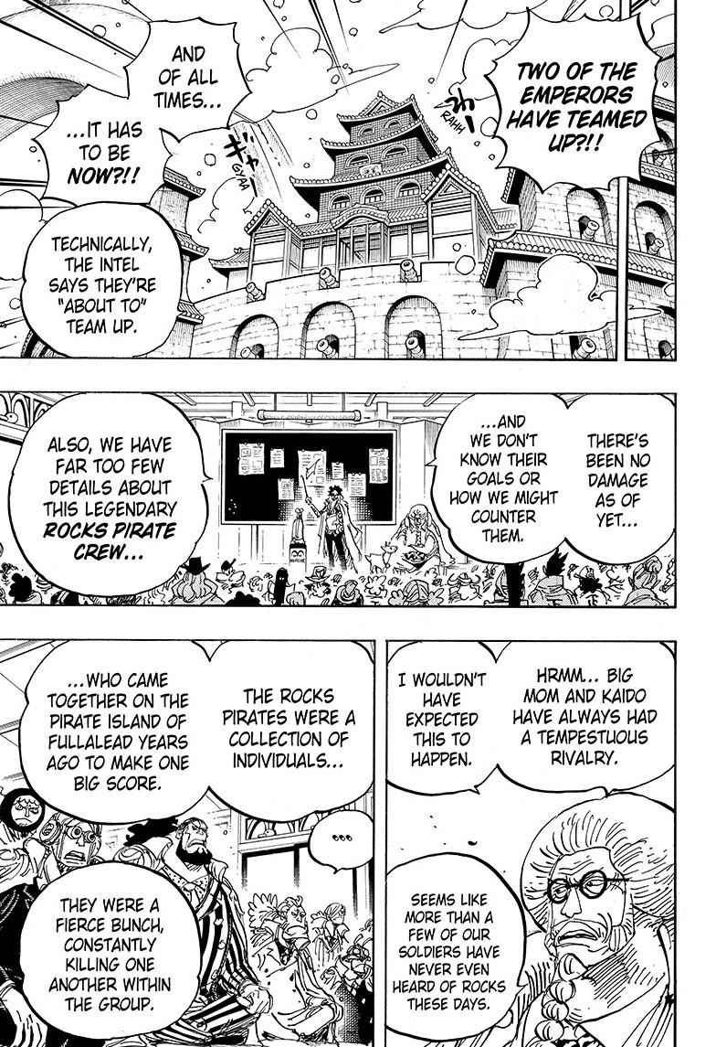 One Piece Chapter 957 Page 5