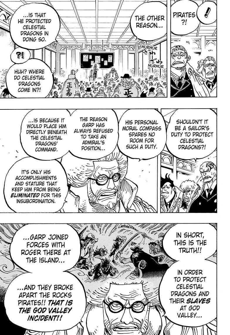 One Piece Chapter 957 Page 9