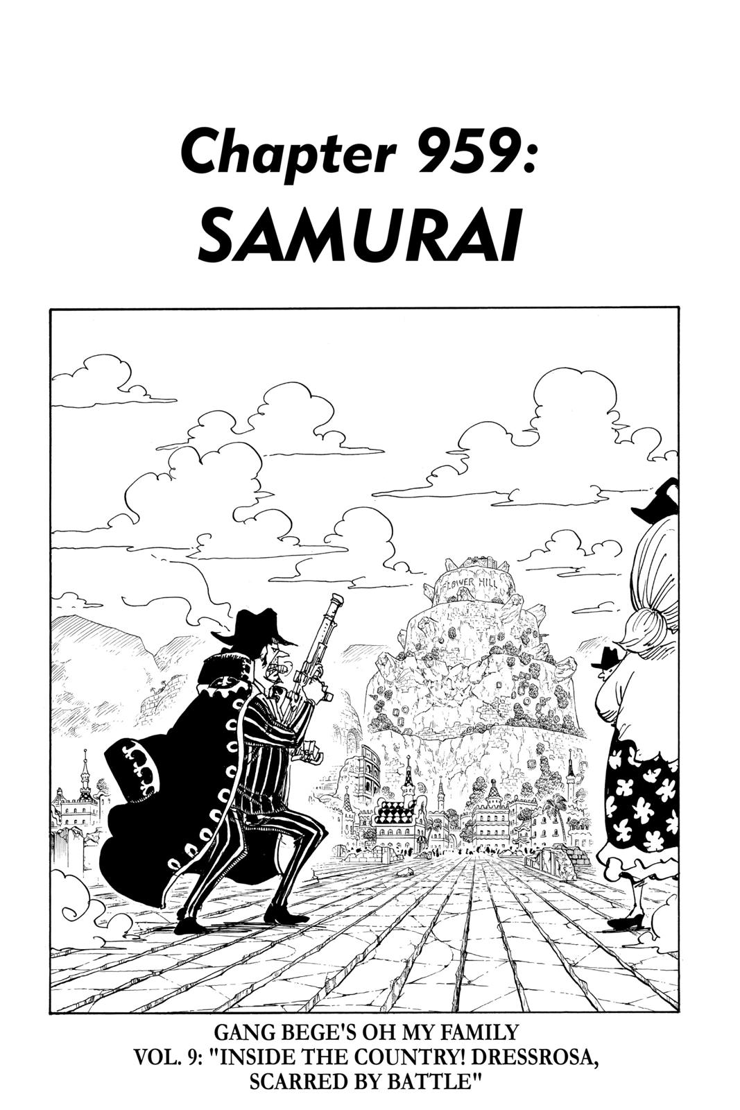 One Piece Chapter 959 Page 1