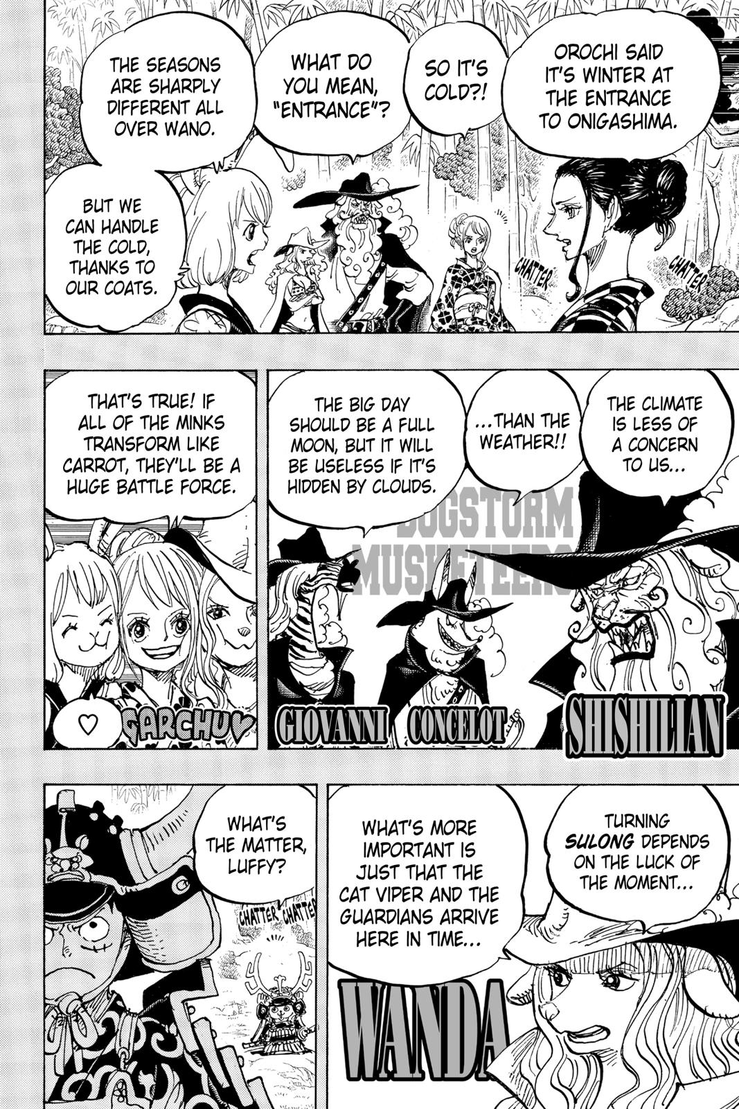 One Piece Chapter 959 Page 6