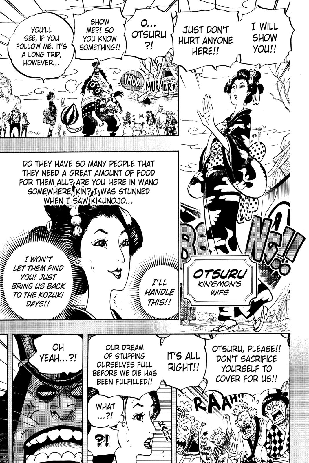 One Piece Chapter 959 Page 9