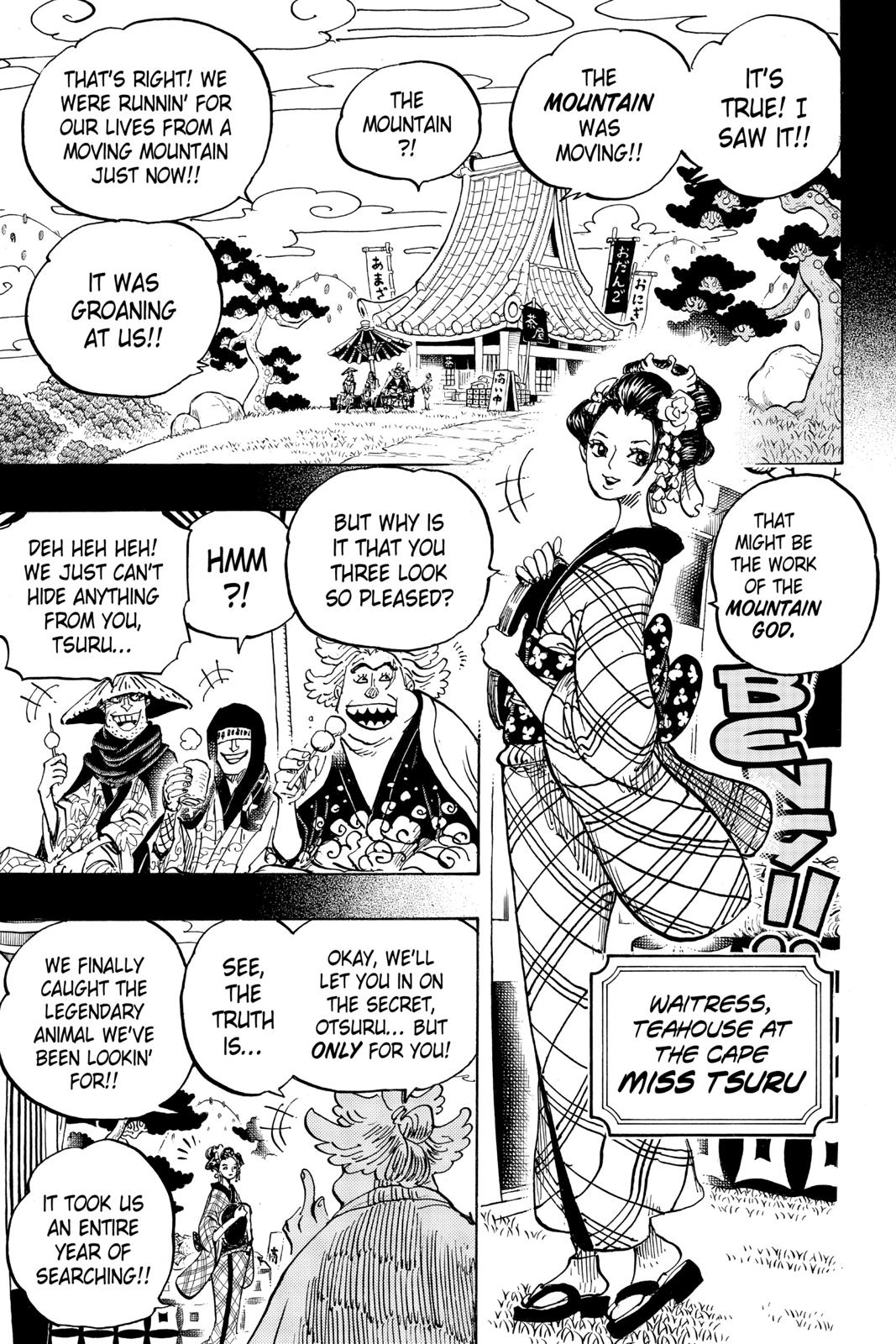 One Piece Chapter 960 Page 3
