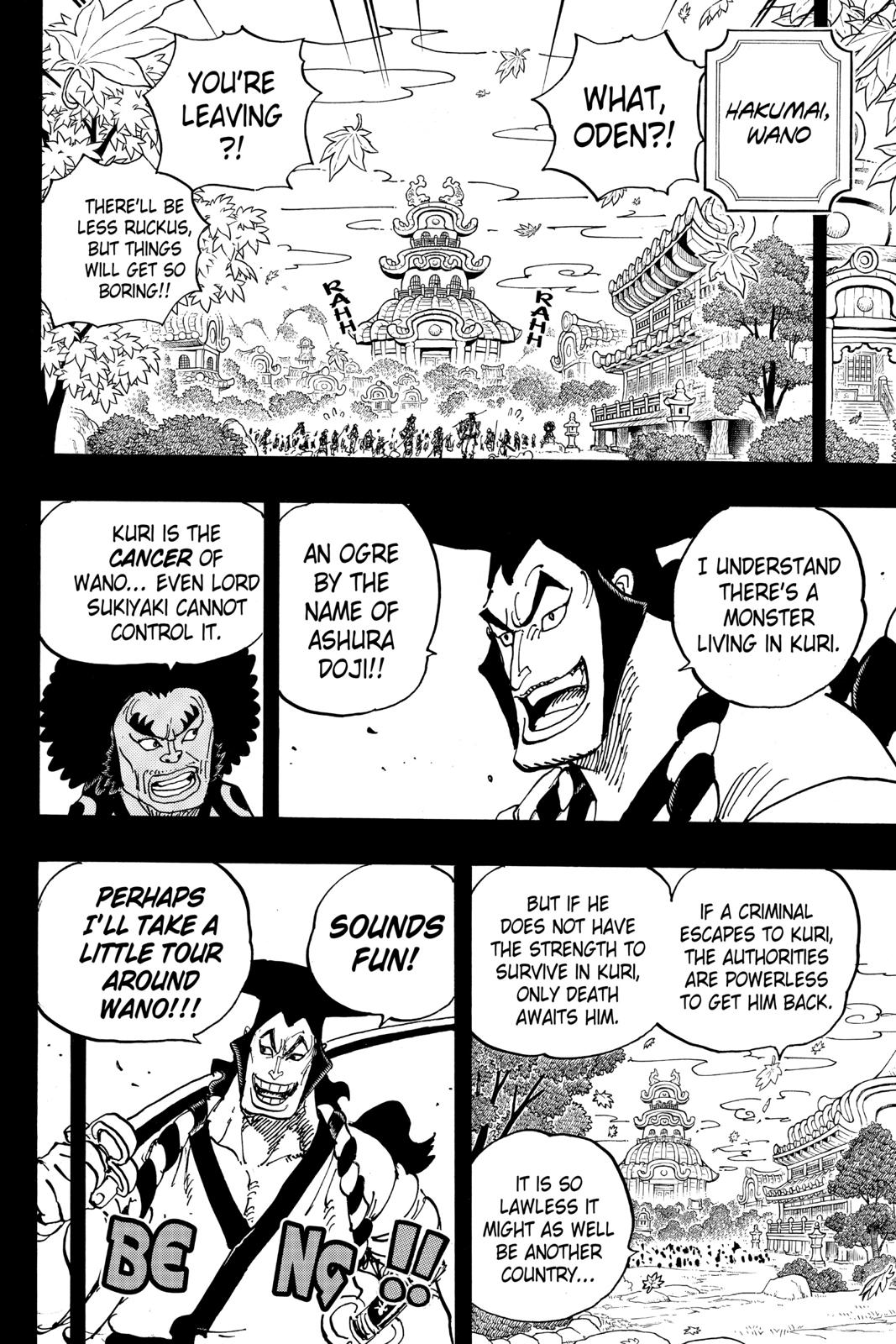 One Piece Chapter 962 Page 2