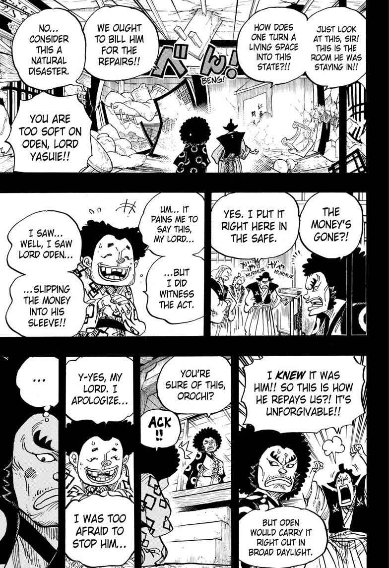 One Piece Chapter 962 Page 3