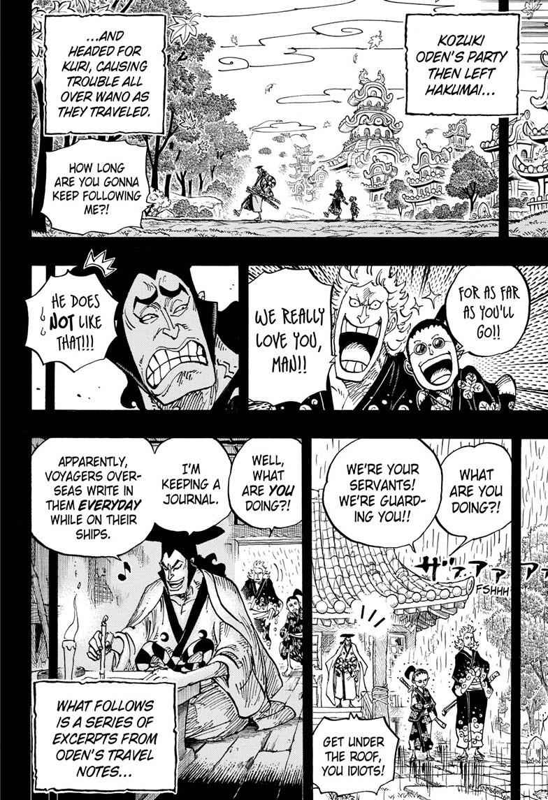 One Piece Chapter 962 Page 4