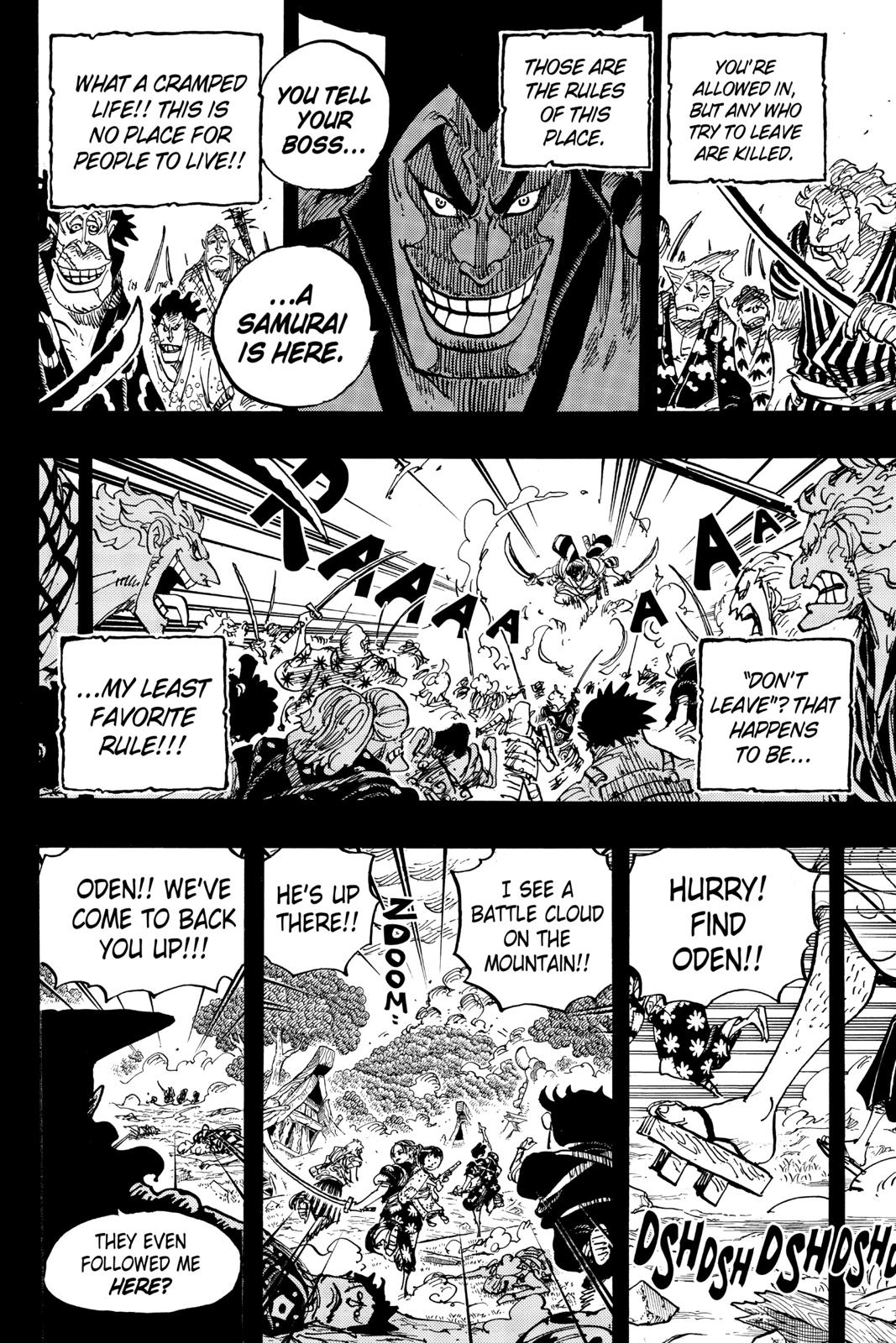 One Piece Chapter 962 Page 8