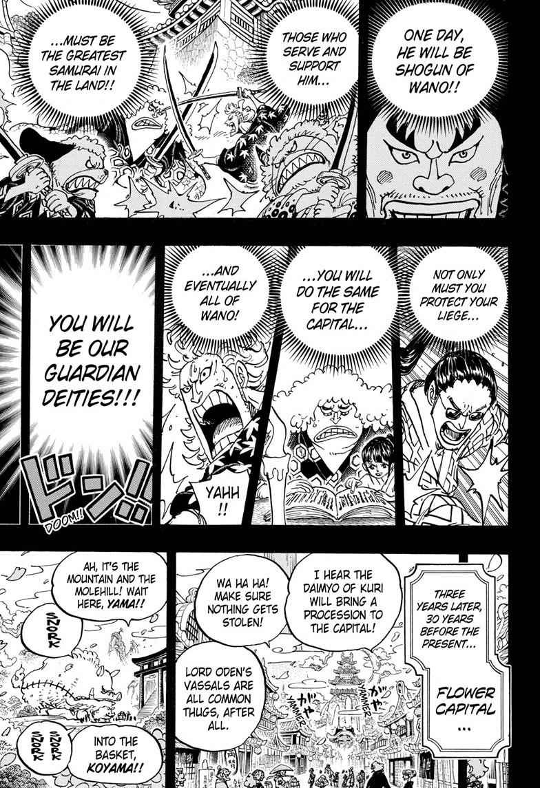 One Piece Chapter 963 Page 11