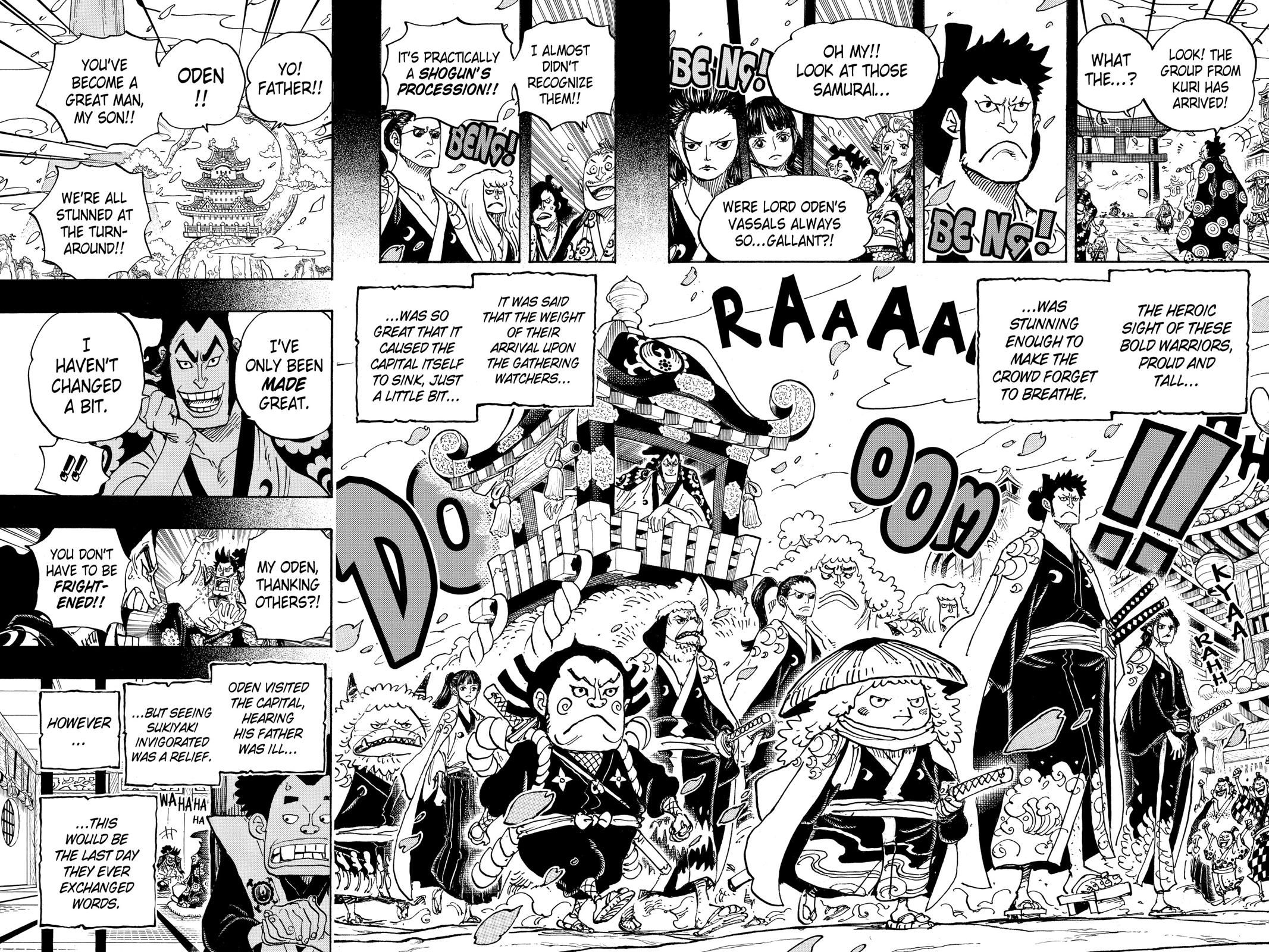 One Piece Chapter 963 Page 12
