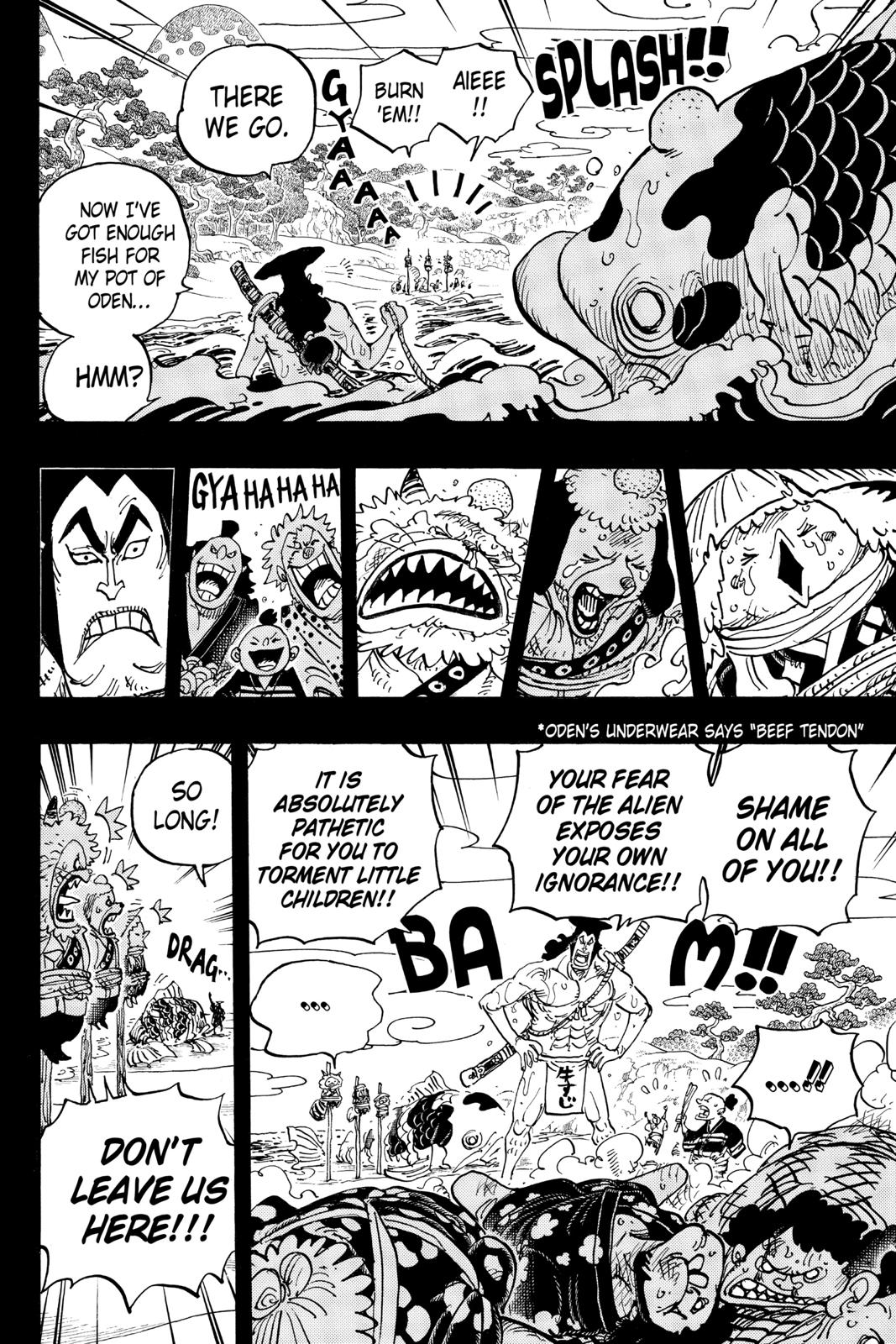 One Piece Chapter 963 Page 4