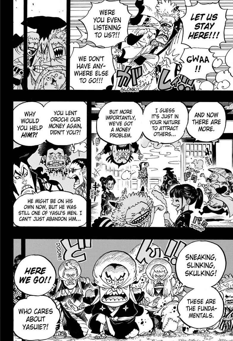 One Piece Chapter 963 Page 8