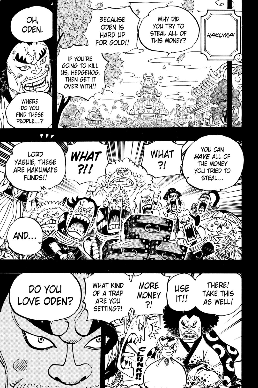 One Piece Chapter 963 Page 9