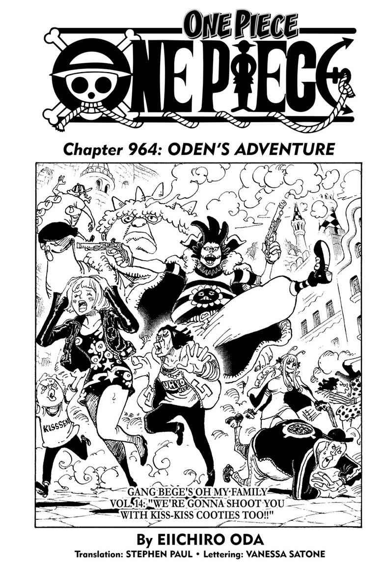 One Piece Chapter 964 Page 1