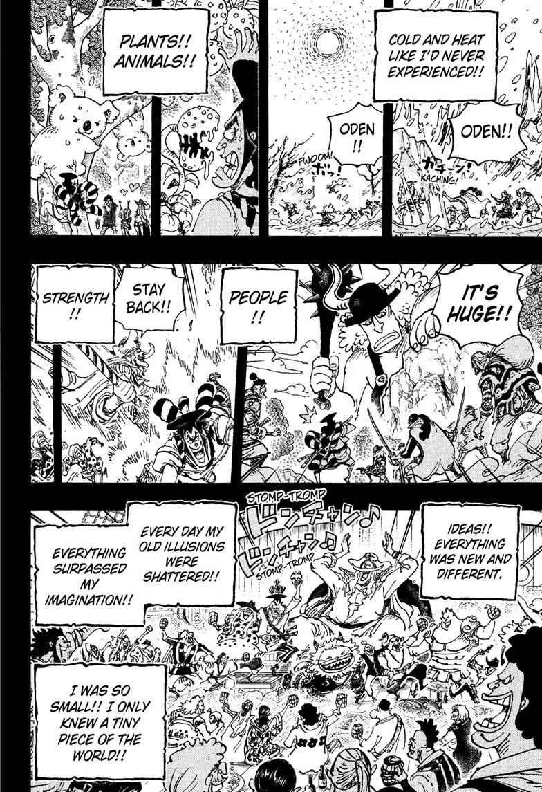 One Piece Chapter 964 Page 16